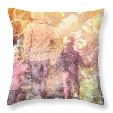 Finding Neverland Throw Pillow