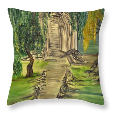 Finding Our Path Throw Pillow