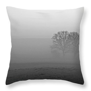 Finding Our Way Throw Pillow by Miguel Winterpacht