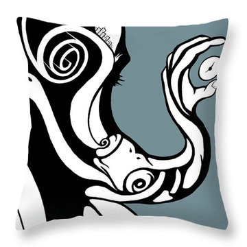 Finding Time Throw Pillow