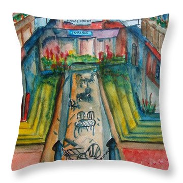 Findlay Market Throw Pillow