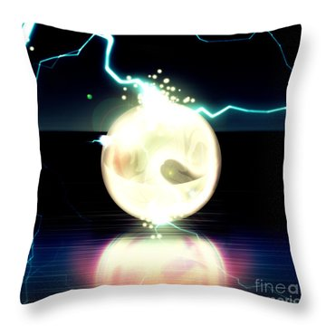 Fine Art Untitled No.24 Throw Pillow by Caio Caldas
