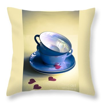 Fine China Throw Pillow
