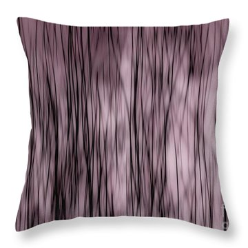 Fine Lines Throw Pillow by Andrea Kollo