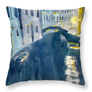 Fine Siormata Throw Pillow