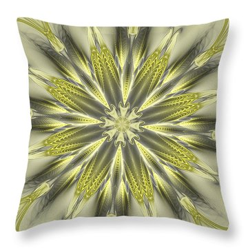 Finer Life Kaleidoscope Throw Pillow