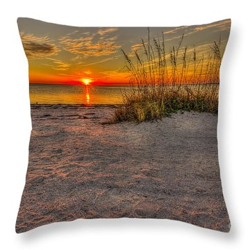 Finishing Moments Throw Pillow