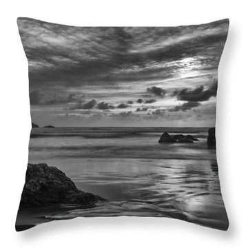 Finishing The Day II Throw Pillow