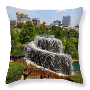 Finlay Park Columbia South Carolina Throw Pillow