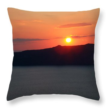 Firastefani Sunset Throw Pillow