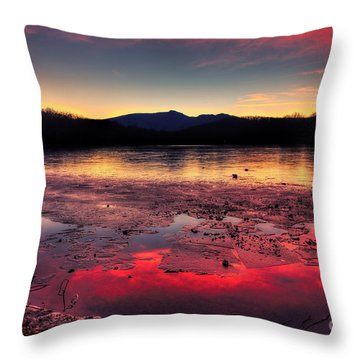 Fire And Ice At Price Throw Pillow