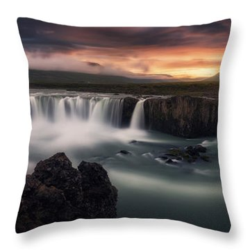 Waterfall Throw Pillows