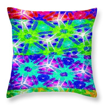 Fire Cracker Throw Pillow