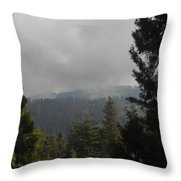 Throw Pillow featuring the photograph Fire On The Horizon by Kristen R Kennedy