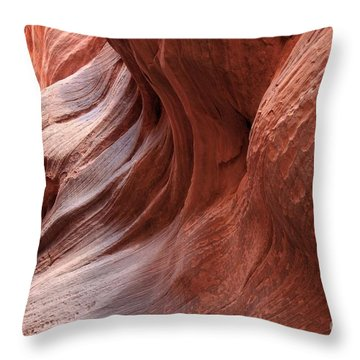 Fire On The Walls Throw Pillow