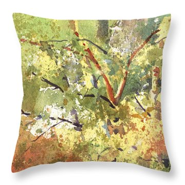 Fire Season Throw Pillow