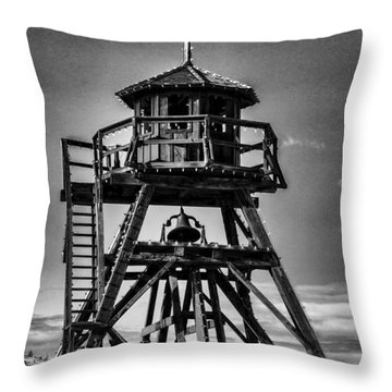 Fire Tower 2 Throw Pillow by Fran Riley