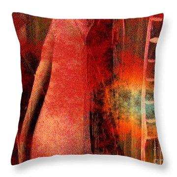 Firefall  Throw Pillow by Yul Olaivar