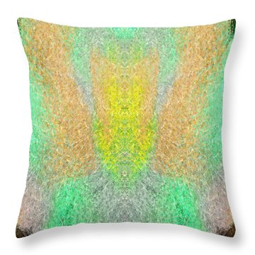 Firefly Throw Pillow by Christopher Gaston