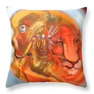 Firekeeper Throw Pillow