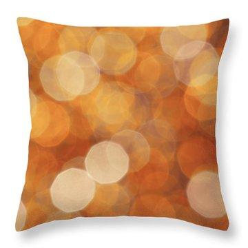 Firelight Throw Pillow by Jan Bickerton