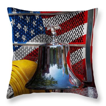 Fireman - Red Hot  Throw Pillow