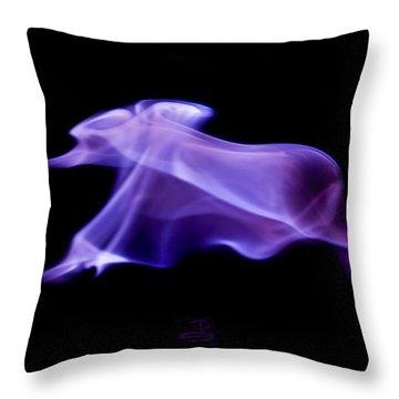 Firephant Throw Pillow