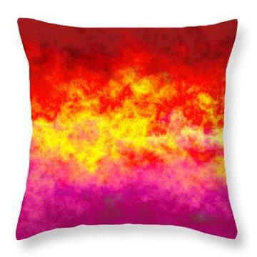 Firestarter Throw Pillow by Wendy J St Christopher