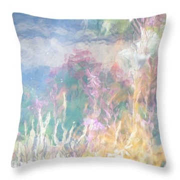Fireweed Number 9  Throw Pillow by Brian Boyle