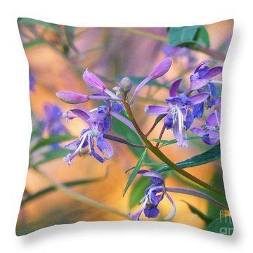 Fireweed Number Three Throw Pillow by Brian Boyle