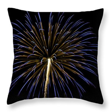 Fireworks Bursts Colors And Shapes 3 Throw Pillow