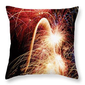 Fireworks Show Throw Pillows