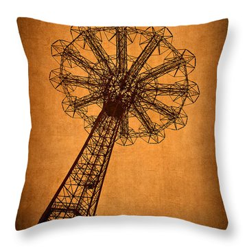 Firey Inspiration Throw Pillow