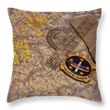 First And Foremost Throw Pillow by Mark Alder