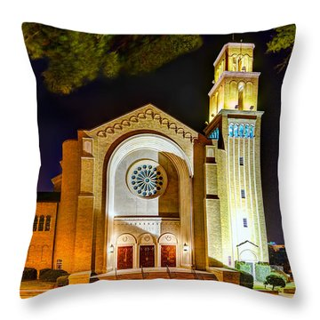 First Baptist Church Of Pensacola Throw Pillow