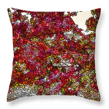 First Blossoms Of Spring Throw Pillow