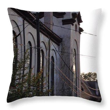 First Centenary Methodist Throw Pillow