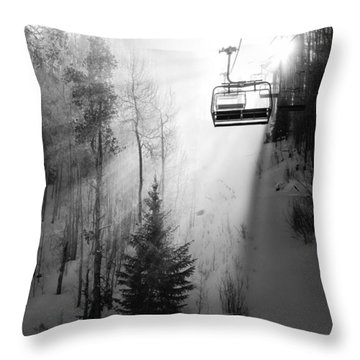 First Chair Throw Pillow