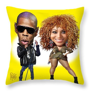 First Couple Throw Pillow