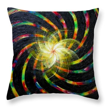 First Day Of Creation Throw Pillow