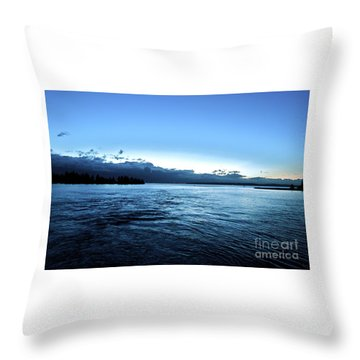 First Ferry Home Throw Pillow