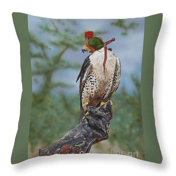 First Flight Throw Pillow by Jackie Mestrom