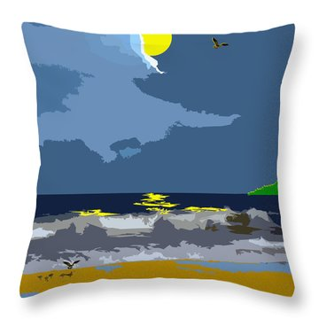 First Flight Throw Pillow
