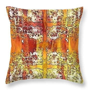 First Impression Throw Pillow by PainterArtist FIN