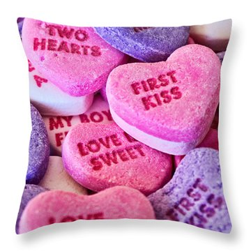 Throw Pillow featuring the photograph Valentines Day by Vizual Studio