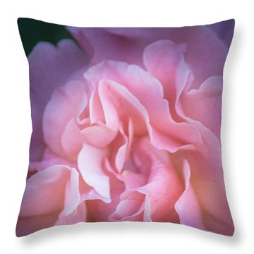 Throw Pillow featuring the photograph First Light by Patricia Babbitt