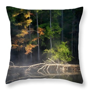 First Light Throw Pillow by Lana Trussell