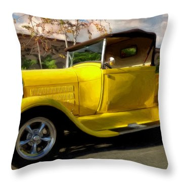 First Love Throw Pillow by Michael Pickett