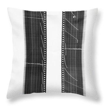 Radiation Throw Pillows