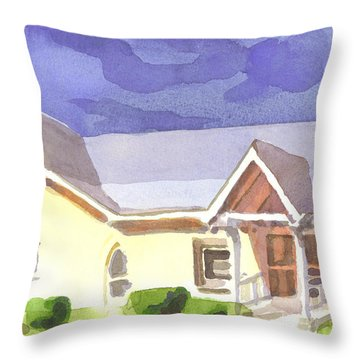 First Presbyterian Church II Ironton Missouri Throw Pillow